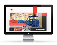 Website design for plant machinery «Shanghai Hansu Plas