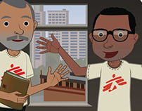 Illustrations for Doctors Without Borders