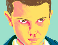 Stranger Things Fan Art - Eleven