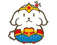 """poshuposhu poi """"super hero"""""""