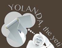 Yolanda, the yeti yogi