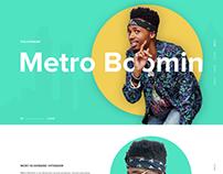 Metro Boomin - Website