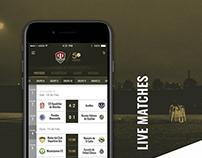Mexican Football League Third Division - Mobile app