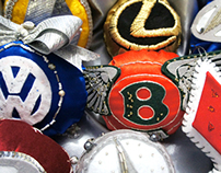 "Christmas-tree decoration ""Auto brands"""