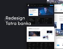 Redesign Tatra banka