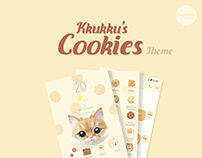 Kkukku's Cookies Theme