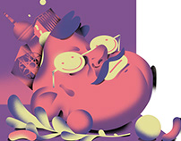 Illustration - Pump Magazine