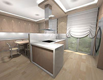 Various Apartment's Interior Renderings