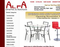 Alfa Dinettes Collateral Design