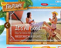 Fruttare Site Design