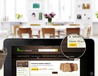 Rattan furniture e commerce