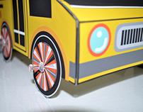 Paper Scrapers (folded cars)