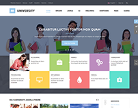 SJ University II - Responsive Education Joomlat Theme