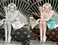 American film actress Sheila Terry, 1931.