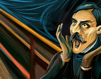Fifth Scream - Hidden Treasure / Adobe Munch Contest