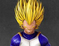 Vegeta. Dragon Ball.