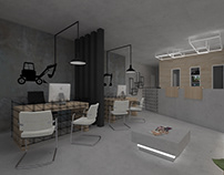 Office in Naxos | 3D Visualization