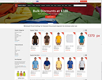 E Commerce Portal - UI Design Project