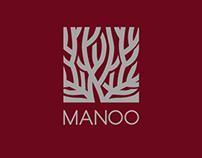 MANOO - classic style clothing logo