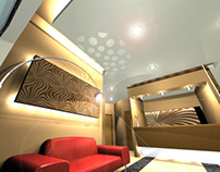 Various Hotel's 3d Interior Proposals