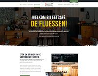 Eetcafe De Fluessen | Web design
