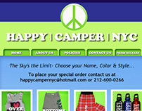 Happy Camper NYC Website Design