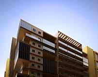 Residential Building | Exterior Rendering