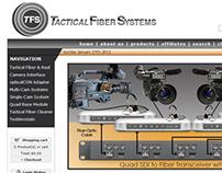 Tactical Fiber Systems Website