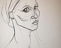 The Head - Life Drawing