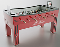 Visualizations of tables for table football