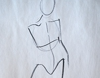 Gesture Drawings - Life Drawing