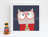 Animal / Kids Art Print