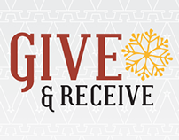 Give & Receive Holiday Promotion & Dinner Menu