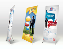 Roll-up Stands for IMTC