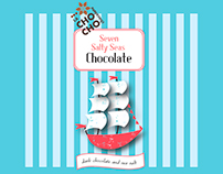 chocolates bar packaging design