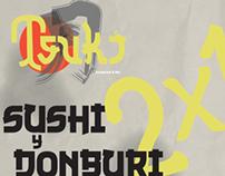 Tsuki typography