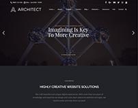 Home - Architect WordPress Theme - Design