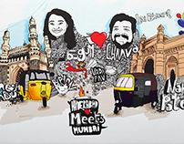 Hyderabad Meets Mumbai (Wedding Invite)