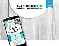 MusicMio – branding and website