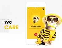 Pet Care App UI