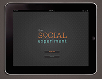 The Social Experiment iPad App