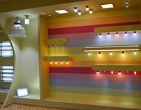 Amenajare Showroom pt corpuri de iluminat cu LED