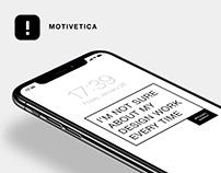 Motivetica Mobile App