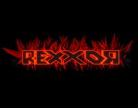 """Logo """"Les lives de Rexxor"""""""