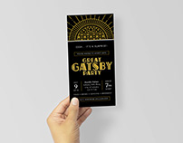 Great Gatsby Invite