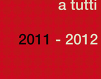Biglietto auguri 2011-2012