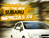 Subaru test Drive