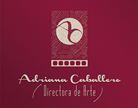 Tarjetas Personales: Adriana Caballero