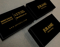 Juranis visiting card