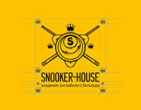 Snooker House logo & identity